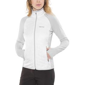 Marmot Variant Fleece Jacket Women Bright Steel/White